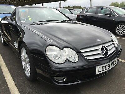 08 Mercedes-Benz Sl350 3.5 Convertible, Mega Spec, Panoramic Roof, Keyless Go