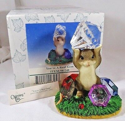 Charming Tails Figurine You're A Real Gem