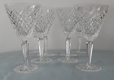 """Waterford Crystal, Templemore Cut, Water Goblet, 7"""", Set of 8"""