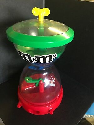 M&M's Candy Dispenser Red On See-Saw plastic