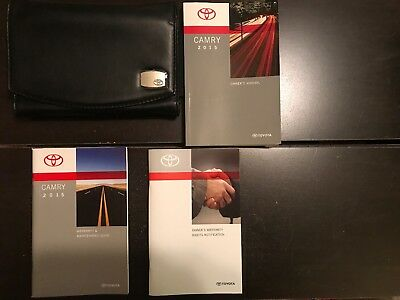 camry owners manual 2015