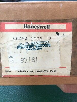 Honeywell C645A 1006 2 Pressure Switch C645A-D
