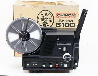 Chinon Sound 6100 Super 8mm Projector As-Is