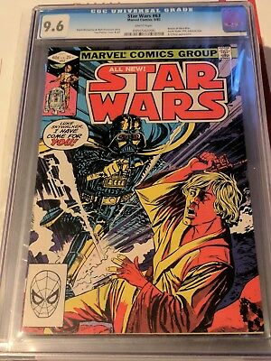 1977 Marvel Star Wars 63 CGC 9.6