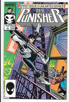 The Punisher #1 of Unlimited Series (Jul 1987, Marvel)