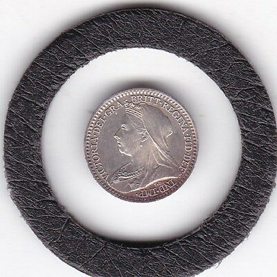 1894  Queen  Victoria  Maundy  Penny  (m1d)  Silver (92.5%) Coin