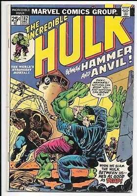 The Incredible Hulk #182 -- End of the First WOLVERINE Story!