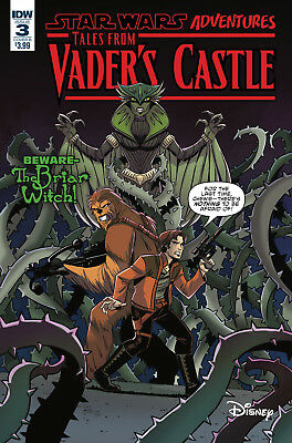 STAR WARS TALES FROM VADERS CASTLE #3 - Cover B - NM - IDW - Presale 10/17