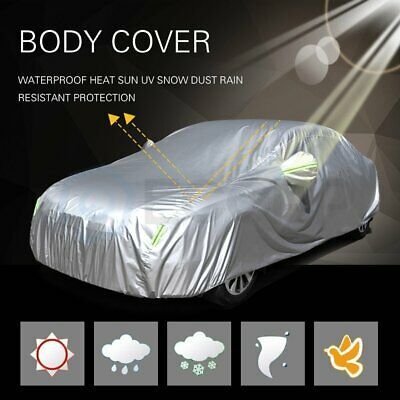 All Season Durable 190T Polyester Auto Cover Water-Proof With phosphor strips