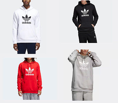 adidas Men's Originals Trefoil Hoodie - FULL COLOR - FULL SIZE - NEW WITH TAGS