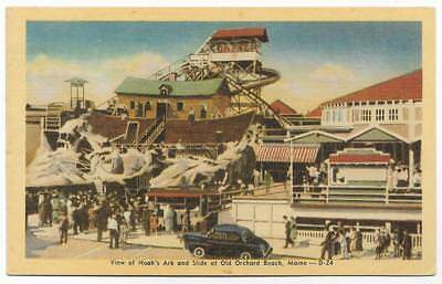 View Of Noah's Ark & Slide~Old Orchard Beach,me