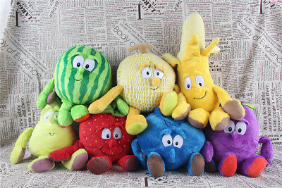 Goodness Gang Fruit And Veg Garlic strawberry Mushroom Soft Plush Toys