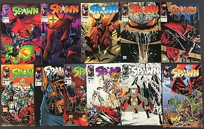 Spawn (1992) 1 2 3 4 5 6 7 8 9-44 VF/NM First 3.5 years 1st app Angela 44 comics