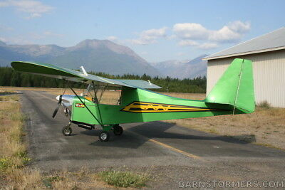 Carlson Sparrow Ultralight Airplane Aircraft