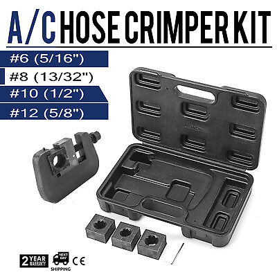 AG-7843B Manual A/C Hose Crimper kit MANUAL STAYLE MANUALLY OPERATED PROMOTION