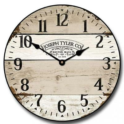 Vintage Barnwood Wall Clock, Available in 8 sizes, Most Sizes Ship 2 - 3...