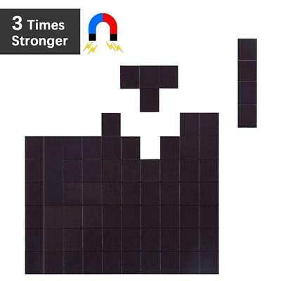 Flexible Magnet Squares with Adhesive by House Again - Each 20x20x2mm -...