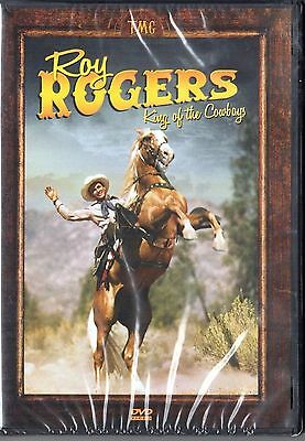 Roy Rogers King Of The Cowboys, 2 Discs Over 10 Hours / Brand New Fancy Metallic