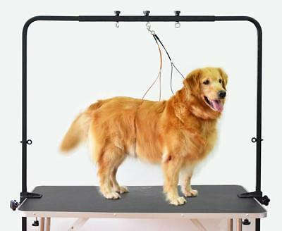 SHELANDY Adjustable overhead pet grooming arm with clamps and harness - For...