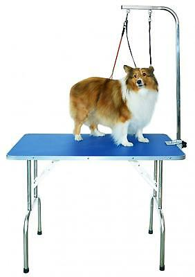 SHELANDY Professional pet grooming table with double leashes and clamp for...