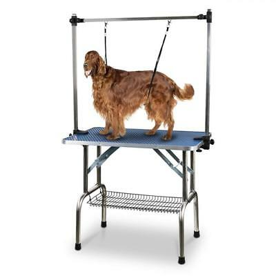 JIASTING Grooming Table for Pet Dog and Cat with Adjustable Overhead Arm...