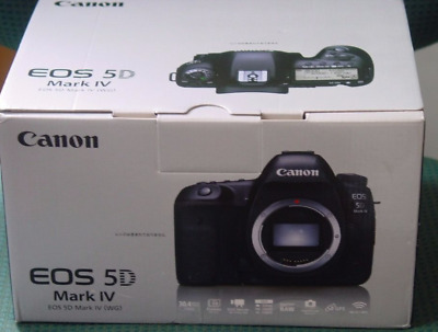 Canon EOS 5D Mark IV 30.4MP Digital SLR Camera - Black (Body Only) UK Model