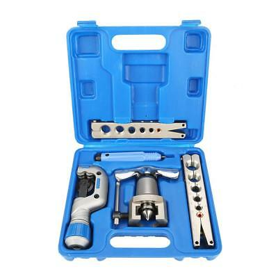 5 in 1 Manual Pipe Flaring Tool Kit Copper Pipe Expander for Fridge Repair fe