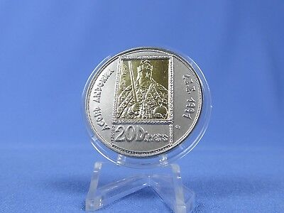 Andorra 20 Diners 1992 ,Zollunion Gold+ Silber *St.* (16886 )