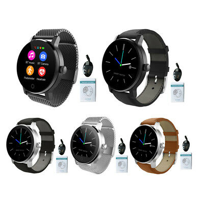 SMA-09 Bluetooth Smart Watch Phone Call Music Heart Rate Monitor for IOS Android