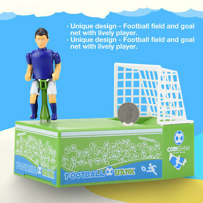 Automated Football Fans Coin Bank Saving Money Box Piggy Bank Xmas Gift for Kids