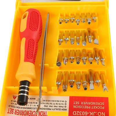Precision Screwdriver Tool Torx Screw Driver Set Repair Phone PC Laptop 32IN1