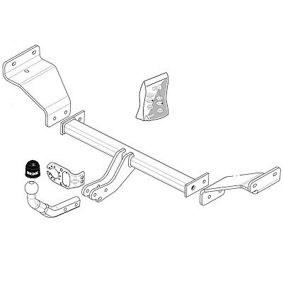 Brink Towbar For Mazda 6 Estate 2007 2013