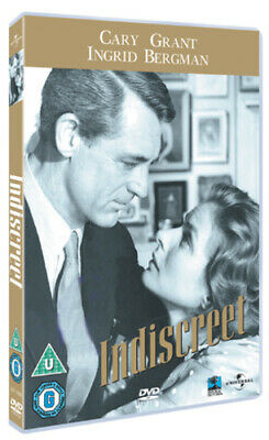 Indiscreet DVD Cary Grant, Donen (DIR) cert PG Expertly Refurbished Product