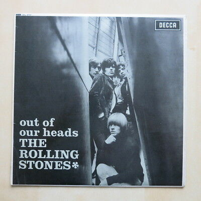 ROLLING STONES Out Of Our Heads UK unboxed Decca stereo vinyl LP 1W/1W