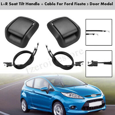 For Ford Fiesta MK6 Pair Front Seat Tilt Handle and Tilt Cable 3 Door 2002-2008