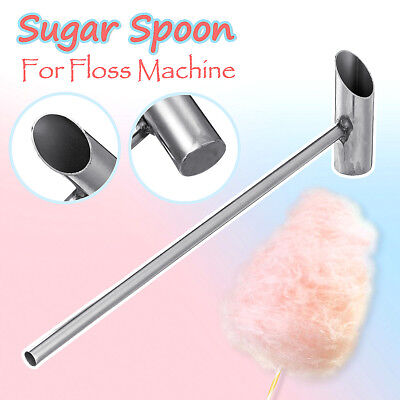 Safe Stainless Steel Sugar Spoon Of Cotton Candy Floss Machine Spare Parts 29cm