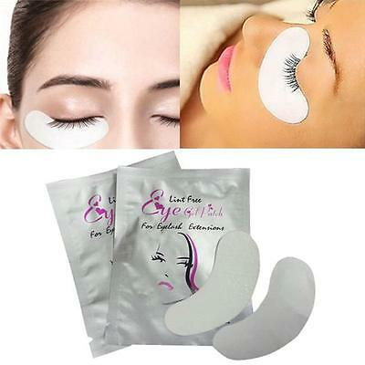 10 Pairs Eyelash Extensions Pads Under Eye Lash Gel Lint Free Eye Patches Pad 6A
