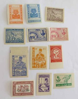 Afghanistan 1932 - 60  small collection unused