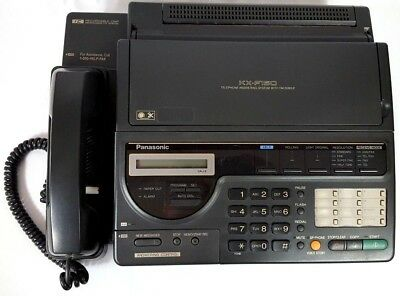 Panasonic KX-F150 Telephone Answering Machine System with Fax Machine with Paper
