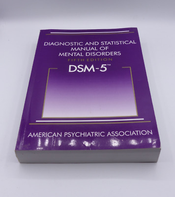 Diagnostic And Statistical Manual Of Mental Disorders 5Th Edition 890425558