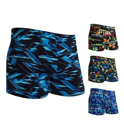 Mens Swimsuit Swimming Trunks Swim Briefs Summer Beach Sports Suits Surf Shorts