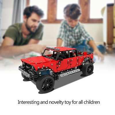 1/16 Stainless Steel Model 4CH 2.4GHz RC Car Kids Truck Toys Assembly Vehicle