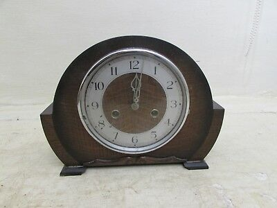 Art Deco Smiths Enfield Mantel Clock, Requires Minor Attention