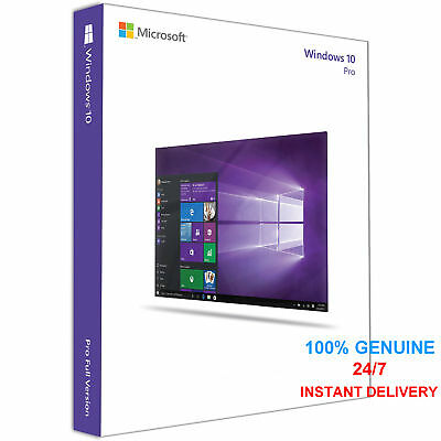 Instant Windows 10 Pro 32 | 64-Bit Download Link Gene Acivation Key License