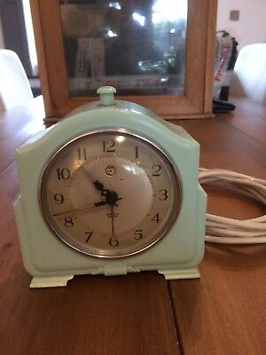 Vintage Smith Sectric Electric Alarm Clock
