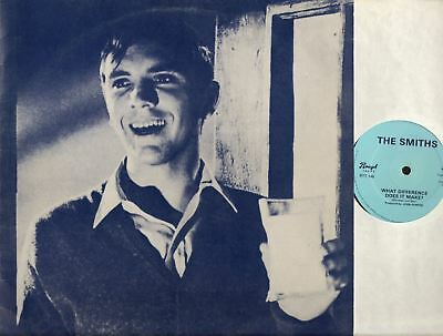 """THE SMITHS what difference does it make? (UK Original) 12"""" EX-/VG 1st Edition"""