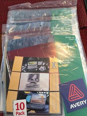 Avery Horizontal Photo Pages - 10 pack x 3