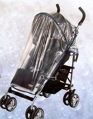 Regenschutz Kinderwagen Buggy transparent flexibel Regen-Schutz Kind Baby
