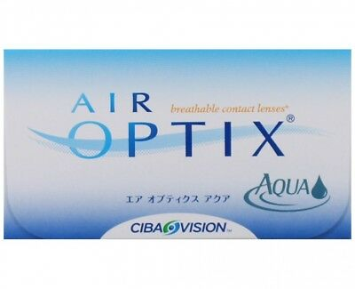 6 x Air Optix Aqua Monatslinsen von Alcon