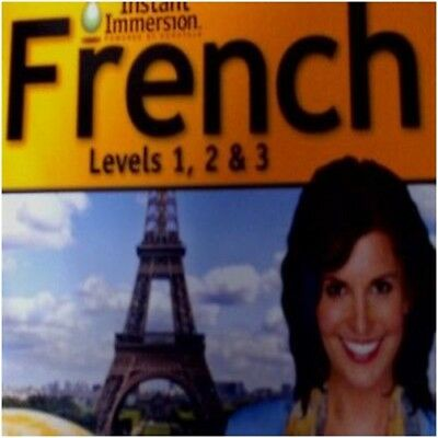 Instant Immersion French Levels 1 2 3 PC & MAC